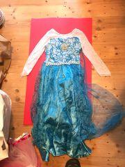 Prinzessin Elsa Eiskönigin Kostüm für