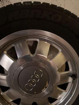 Allwetter 195 - 295 - Reifen mit Felgen für Audi