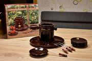 Schokoladen Fondue für 4 Personen