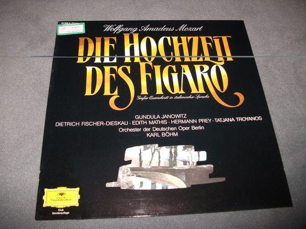 15 Schallplatten LPs Mozart Placido