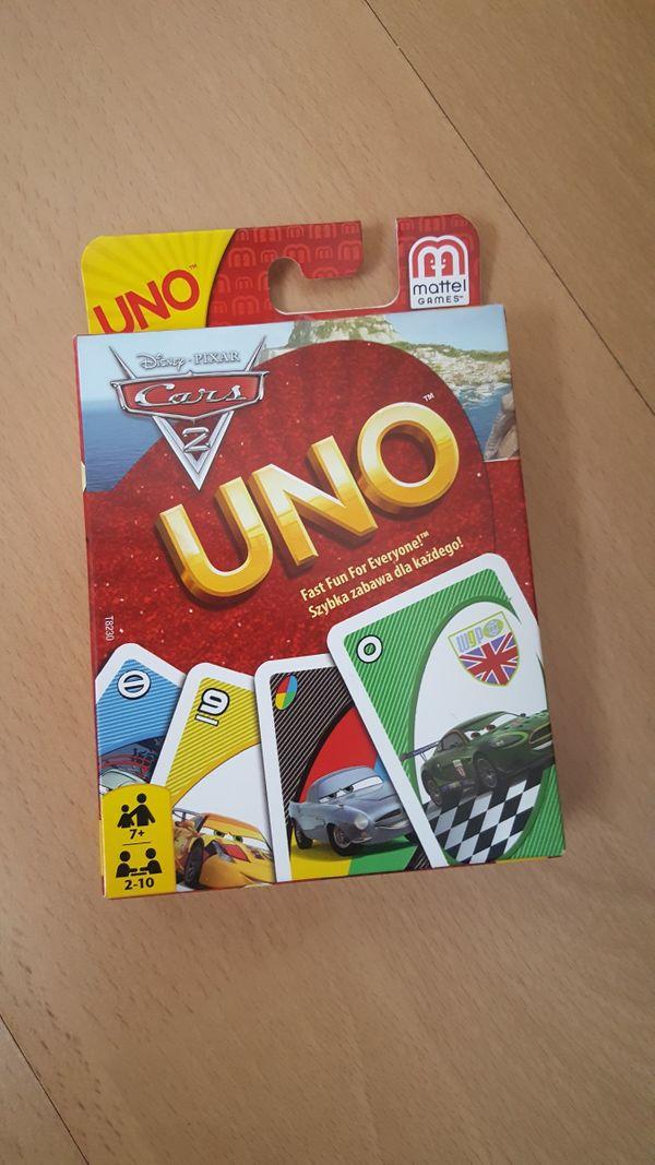 UNO Kartenspiel Disney Cars