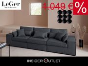 XL-Big Sofa Ceyda 280 cm
