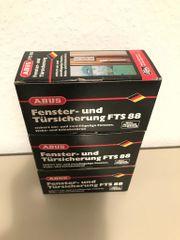 ABUS FTS88 Fenster-Zusatzsicherung 3 Stück