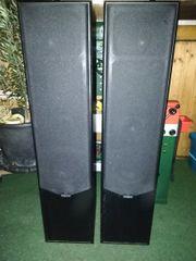 2x Magnat 4-Wege Bass Reflex