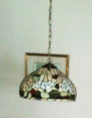 Kunstvolle Tiffany-Hängelampe