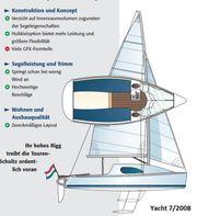 Segelboot Daysailer 22 schnell uns