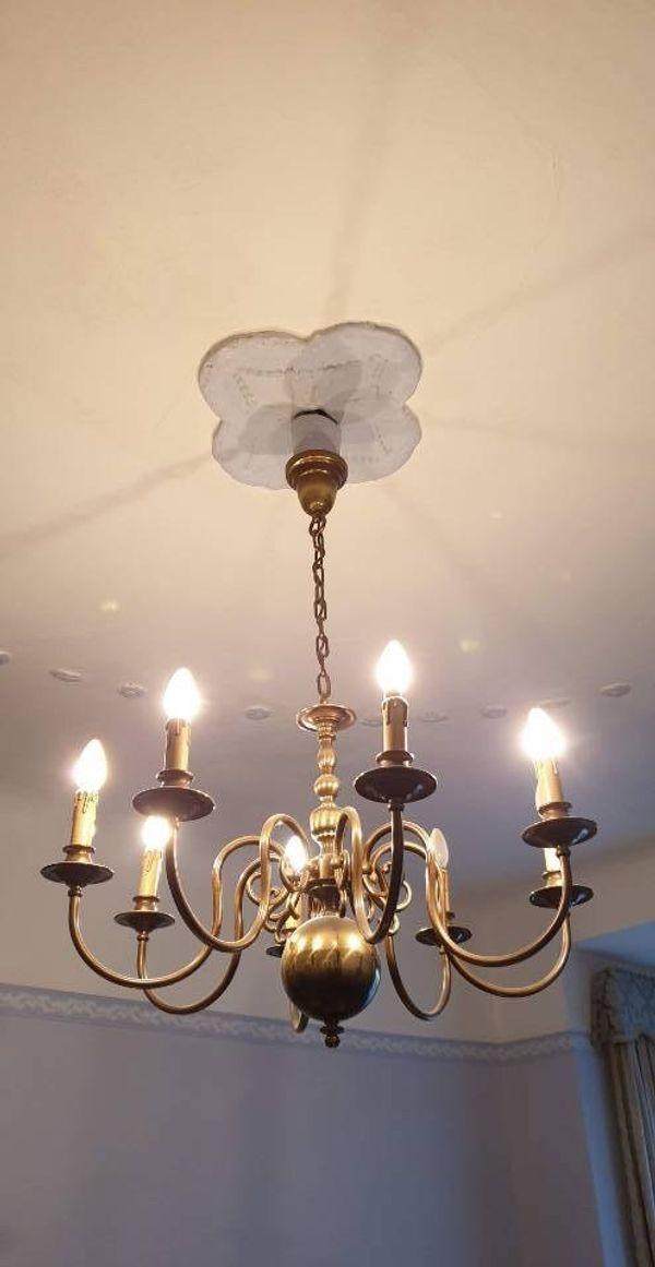 2x Kronleuchter XL Leuchter Deckenlampe