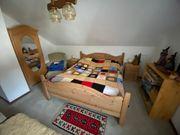 Schlafzimmer Kiefer natur komplett