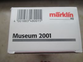 Märklin h0 Museumswagen 2001 Schuler: Kleinanzeigen aus Göppingen Faurndau - Rubrik Modelleisenbahnen