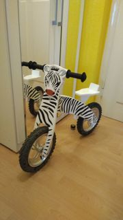 Kinder Laufrad Zebra