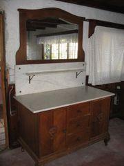 Antiker Waschtisch, Kommode