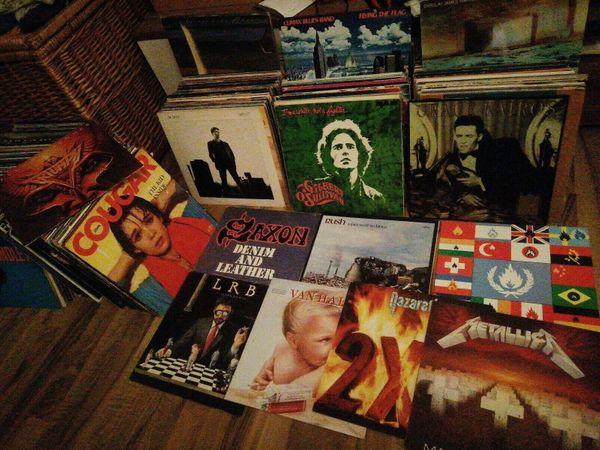 Vinylsammlung ca 440 Schallplatten Rock