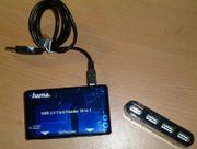 USB PORT VERTEILER KARTENLESER