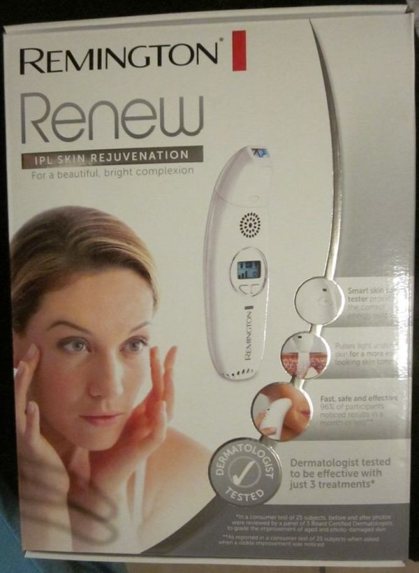 Remington Renew IPL Haut Rejuvenation
