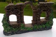 Aquarium Dekoration Ruine oder Tempel