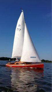 15m² Jollenkreuzer sofort segelbereit