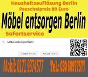 Möbel entsorgen Berlin günstig