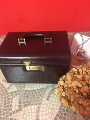 Kosmetik Koffer Leder