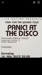 2 Tickets Panic at the