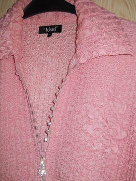 Damenbekleidung - Traumhaft schöne rosa Steppjacke Gr