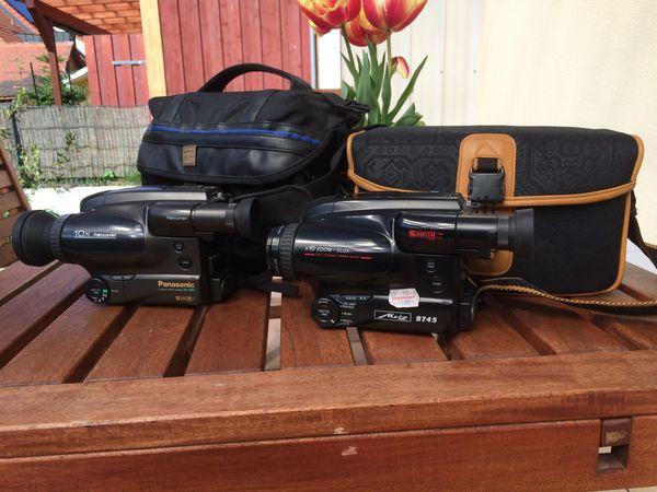 VHS Videocameras