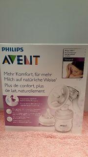 Milchpumpe Philips Avent mit Zusatzflasche