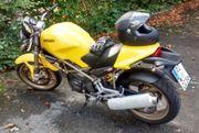 Verkaufe gepflegtes Sommermotorrad DUCATI MONSTER