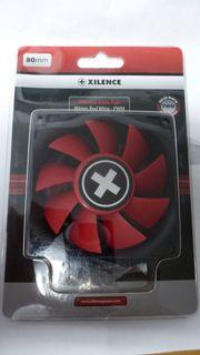 3 PC Gehäuselüfter Xilence Red