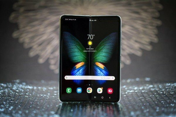 Samsung Galaxy Fold 5g Silber