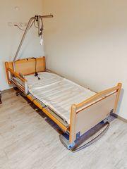 Voll elektrisch verstellbares Pflegebett Seniorenbett