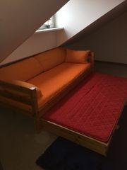 Kinder und Jugendbett mit Ausziehbett