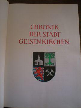 Fach- und Sachliteratur - Cronik der Stadt Gelsenkirchen