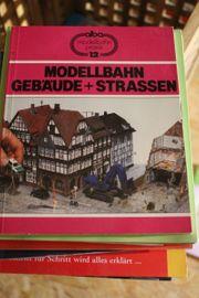 Modellbahn Gebäude Strassen Dörfer und
