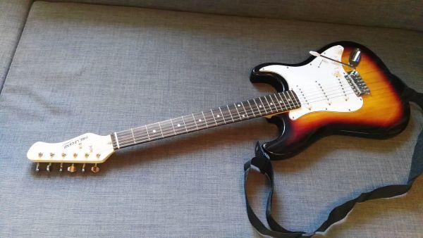 Fire Legend Stratocaster E-Gitarre Komplett Set in Hof - Gitarren ...