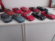 10 Metall Modellautos 1 24