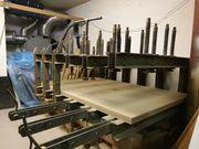 Furnierpresse -böcke zu verschenken