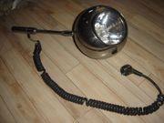 Alte Chrom Lampe