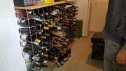 Weinregal für 240 Flaschen