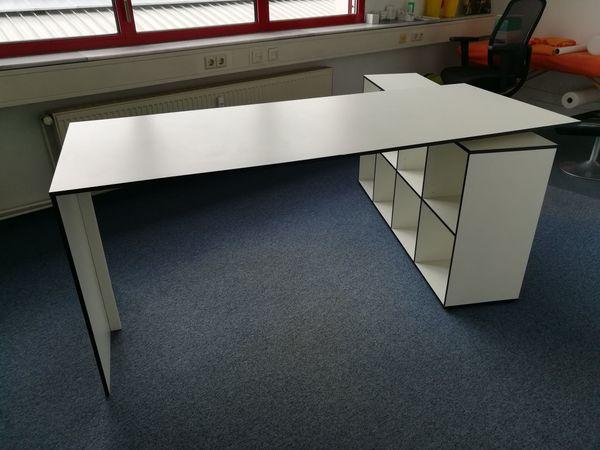 Schreibtisch weiß 108 x 70