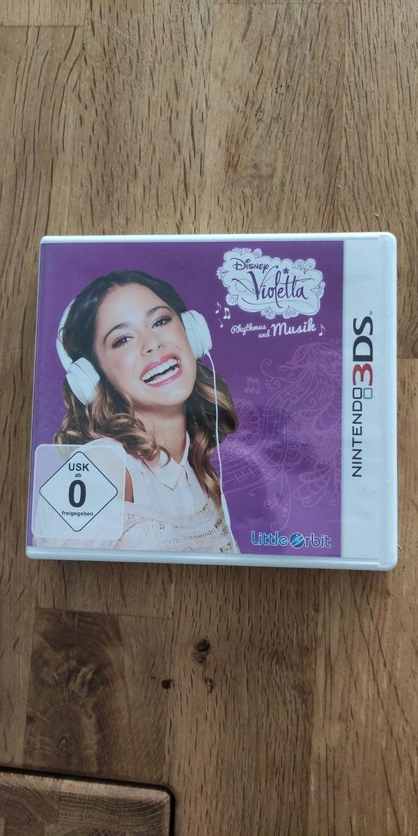 Nintendo 3DS Spiel Disney Violetta