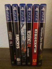 6 aktuelle PS 4 Spiele