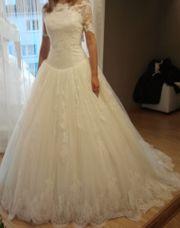 Wunderschönes Prinzessinnen-Brautkleid in Größe 34