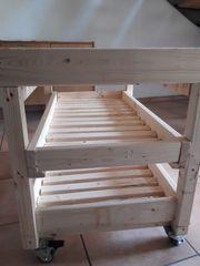 Lagerkiste massives Holz