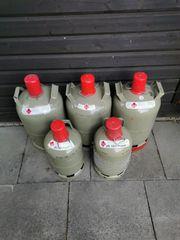 Gasflasche Campinggas Propan 11 und