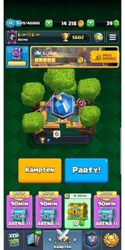 clash royal account lvl 11