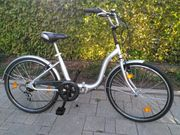 Seltene Gelegenheit Fahrrad Klapprad 24