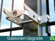 ZAUNIVERSUM Gabionen-Upgrade - Doppelstabzaun einfach umrüsten