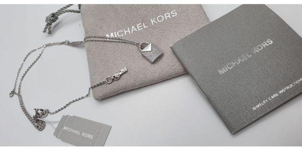 Michael Kors Kette Silber MKC1040AN040 Neu,Original! in Rees