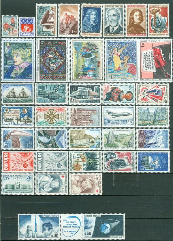 Frankreich postfrisch Jahrgang 1965 komplett
