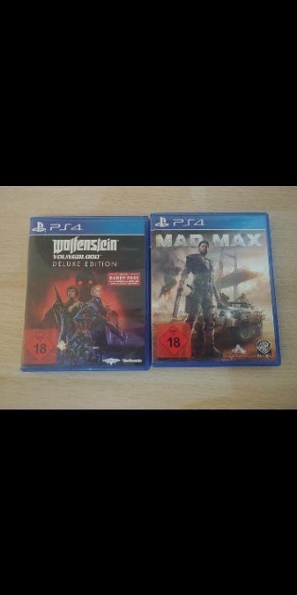 PS4 Spiele Wolfenstein Youngblood Mad